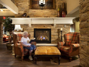AG Architecture Senior Living Immanual Lutheran Fireplace Tech Talk