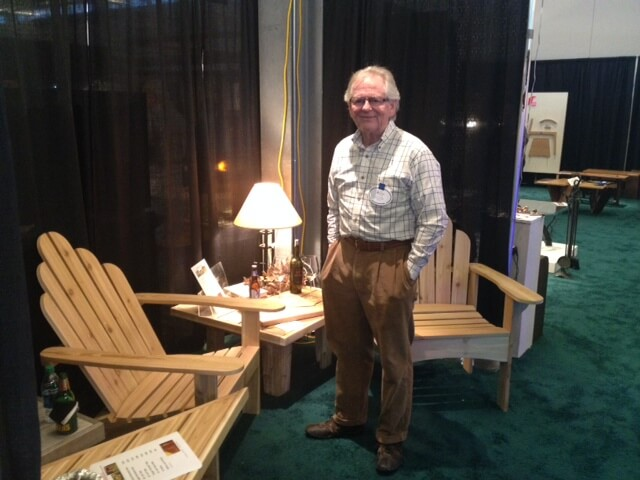 AG Off the Clock – Steve Alexander exhibits at the 9th Annual Midwest Region Fine Furnishings Show