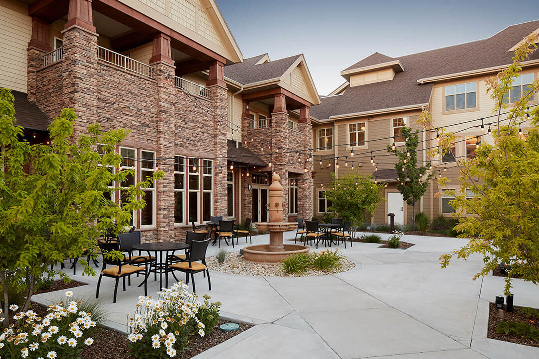 The terraces of boise ag architecture for The terraces senior living