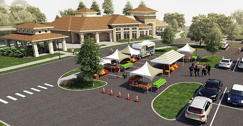Farmers Market and Food Trucks