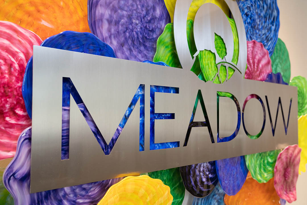 Meadow Lobby Sign