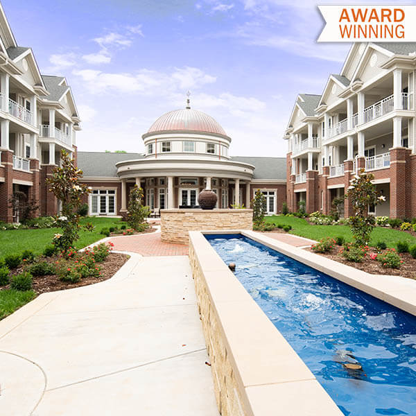 Meadow Honored with an Argentum 2018 Senior Living by Design Award