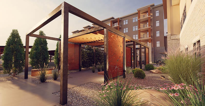 explore activating an outdoor space