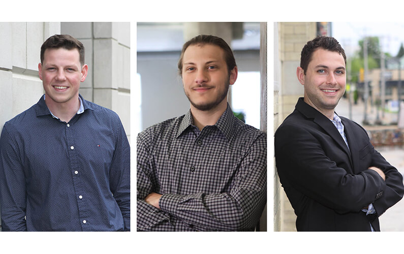 AG Welcomes Michael Johnston, Josh Levin and Jonathan Spielmann