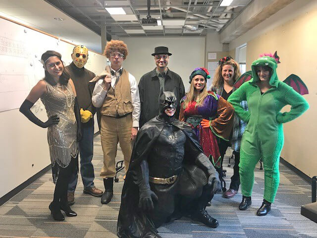 AG Team in Costume