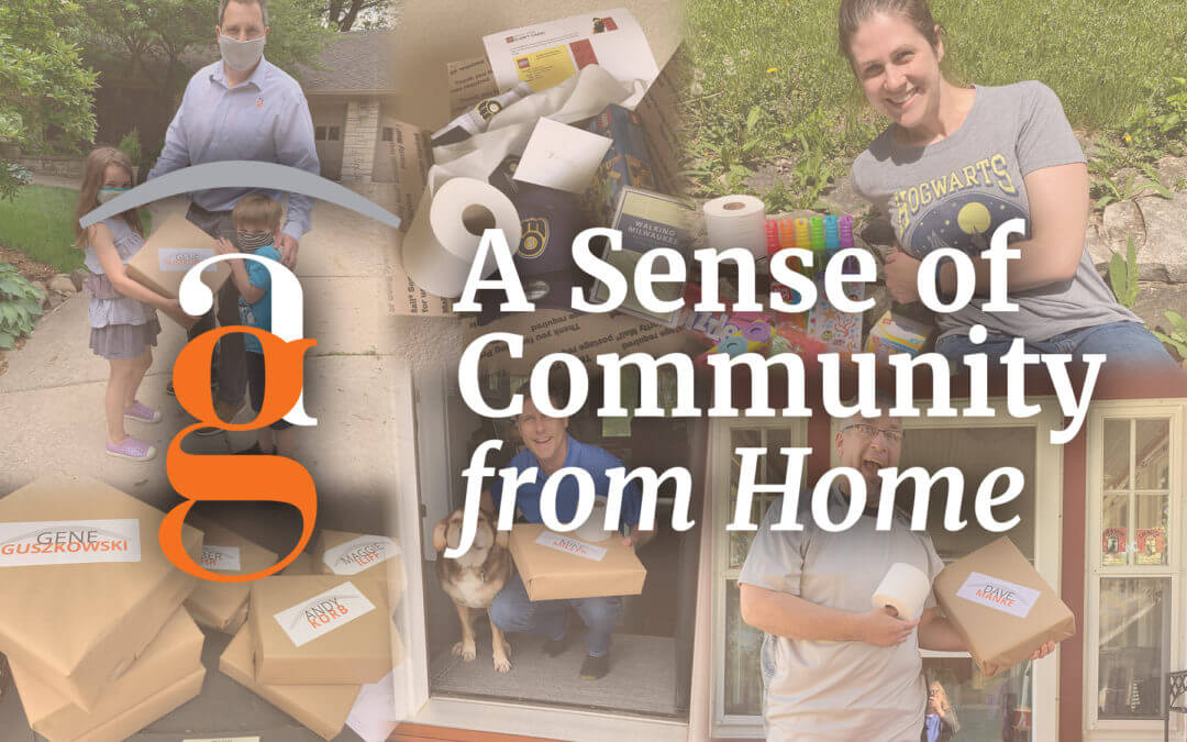 A Sense of Community from Home